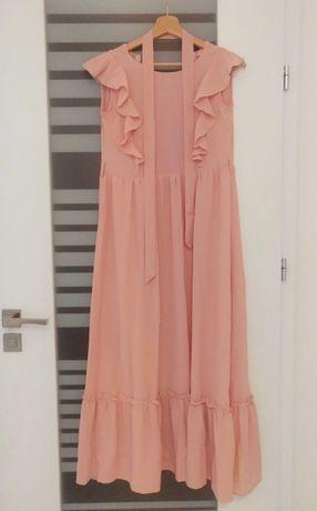 Nowa sukienka maxi Shein 11-12 lat 152 cm dziewczynka