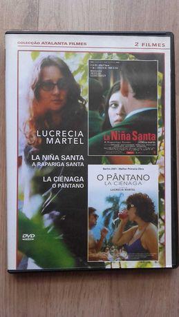 "Raríssimo DVD ""A rapariga santa"" e ""O pântano"", de Lucrecia Martel"