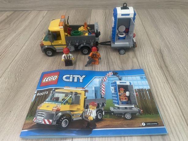 Lego City 60073 wóz techniczny na placu budowy