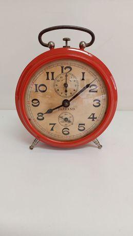 Relógio Despertador antigo JAZBAND, Made in France