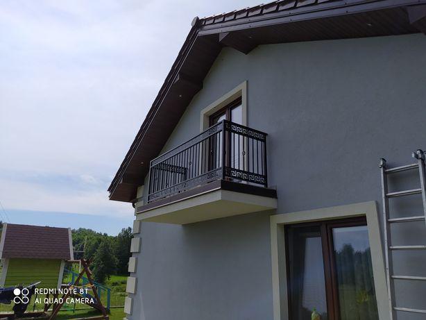 Bramy ogrodzenia balustrady