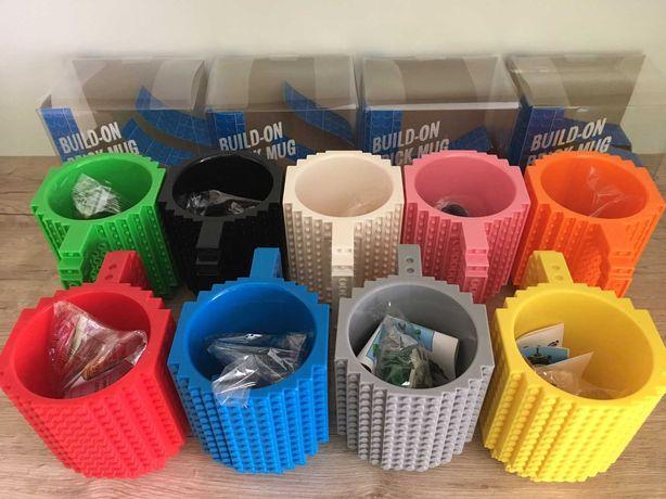 Кружка LEGO + набір кубиків, чашка конструктор лего