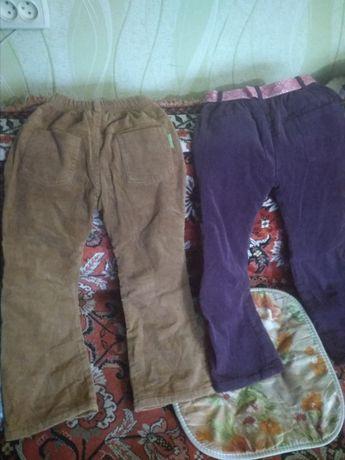 штаники утепленные на девочку