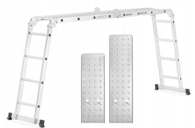Драбина трансформер Лестница складная 4-3.4-4 Стремянка Розкладна