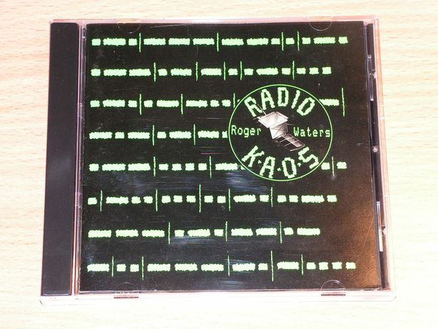 Roger Waters - Radio K.A.O.S. 32DP-781 CBS Sony first press Japan
