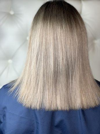 Стрижка+покраска волос=400гр