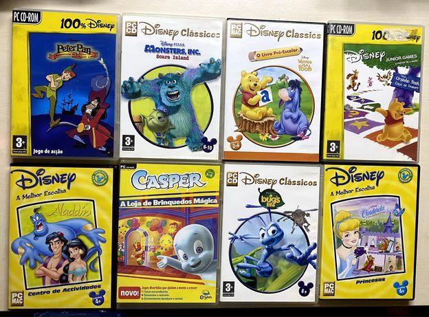 Jogos para computador á escolha- Cada: 4€ + Portes de Envio