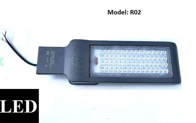 Lampa uliczna LED 50W latarnia SMD 6500K ZIMNA BIEL %