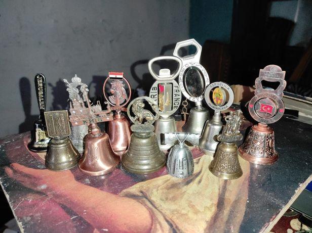 Колокольчики коллекционные