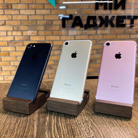 Б/у Apple iPhone 7 32/128gb Мій Ґаджет/ОБМІН/ГАРАНТІЯ/КРЕДИТ 0 %