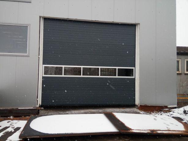 Bramy garażowe segmentowe, rolowane, producent, pomiar, montaż, serwis