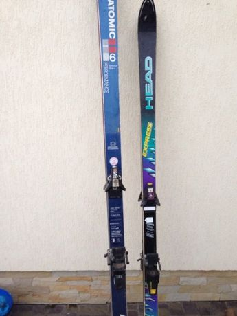 лыжи salomon лижи
