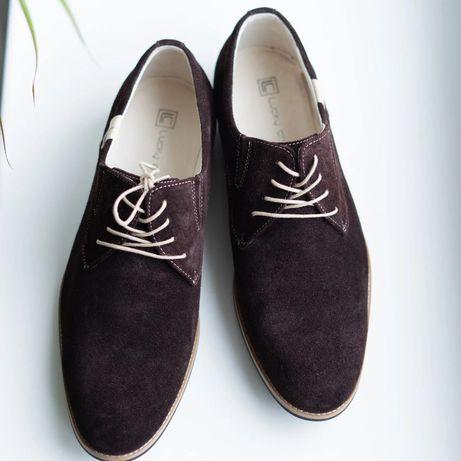 Кооичневі туфлі гарантія якості. Замовляй та отримуй за 2 дні! Обувь