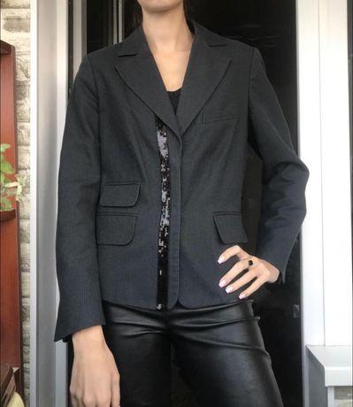 Шикарный пиджак в полоску с пайетками mexx