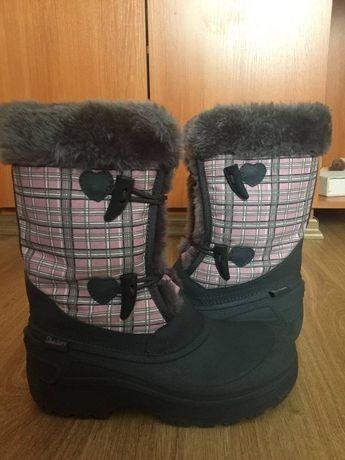 Непромокаемые сапоги для девочки-подростка