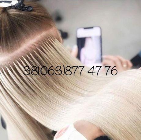 Наращивание волос (микро)