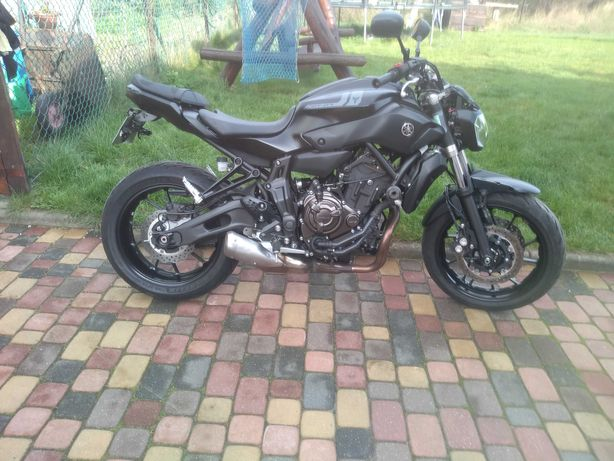 Yamaha Mt07 A2 ABS 2017