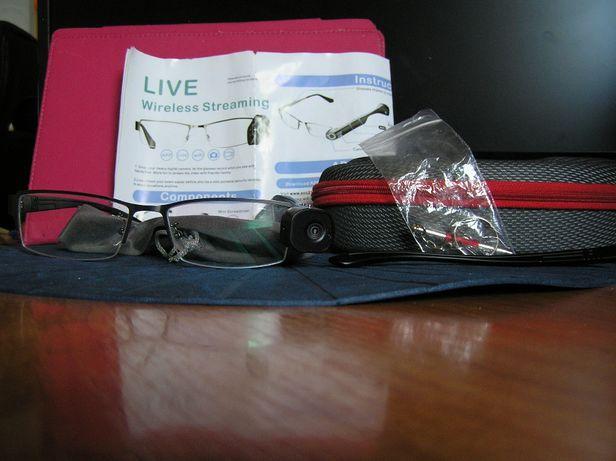 Sprzedam Okulary Szpiegowskie Kamera WiFi Podgląd