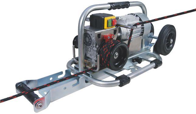 Elektryczna wciągarka linowa do kabli i przewodów 800 kg