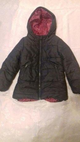 Zimowa kurtka dla dziewczynki roz 128 Pepco