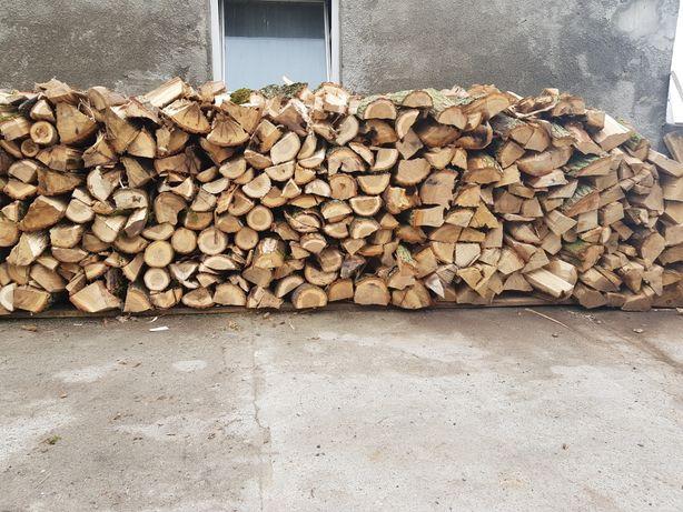 Drewno drzewo opałowe kominkowe dąb