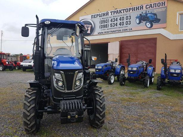 Мінітрактор Foton lovol 504 з кабіною трактор Фотон Гарантія 2 роки