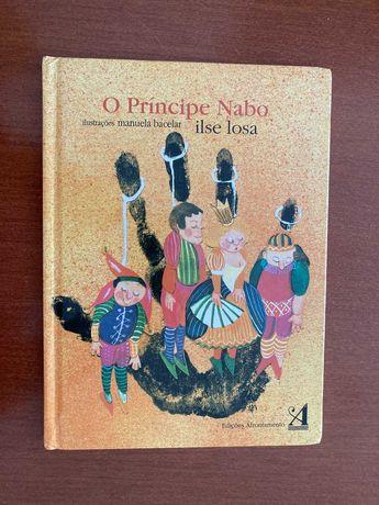 "Livro ""O Principe Nabo"" - Ilse Losa"