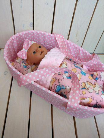 На подарок! Люлька сумка-переноска для Беби Борн Baby Born с постелько