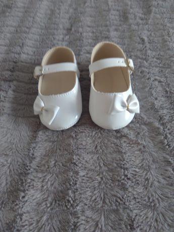 Buciki, buty białe