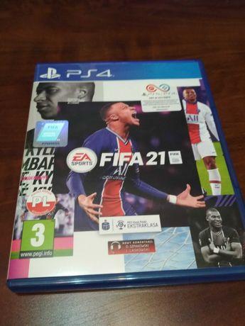 Gra  FIFA 2021 PS4 jak nowa  POLSKA WERSJA