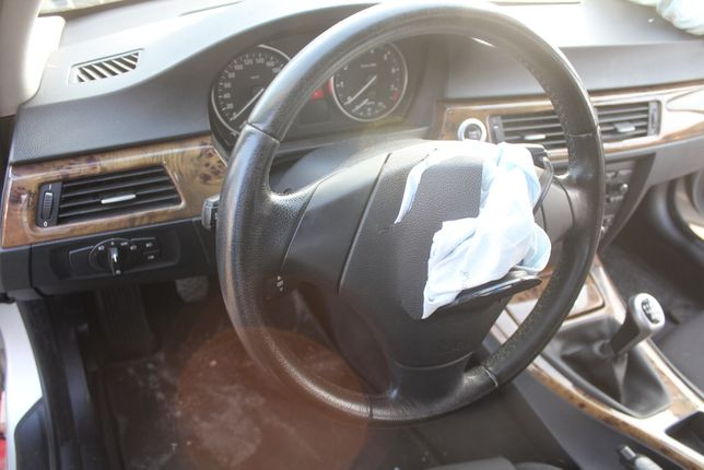 Kierownica bez poduszki skóra BMW E91 rok 2008