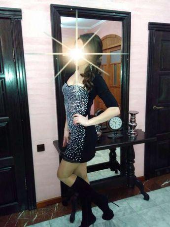 шикарное платье в камнях Kiki Riki снизила цену