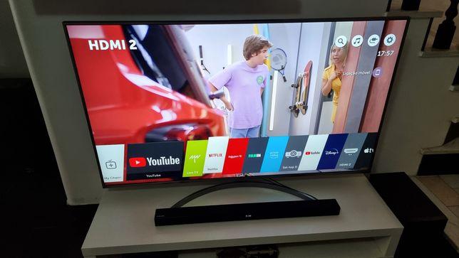 "TV LG 65"" - 65UK7550PLA   4K (Como Nova/ Garantia)"