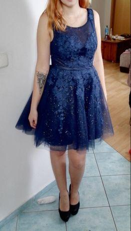 Cudowna sukienka wieczorowa/studniówka/bal/sylwester