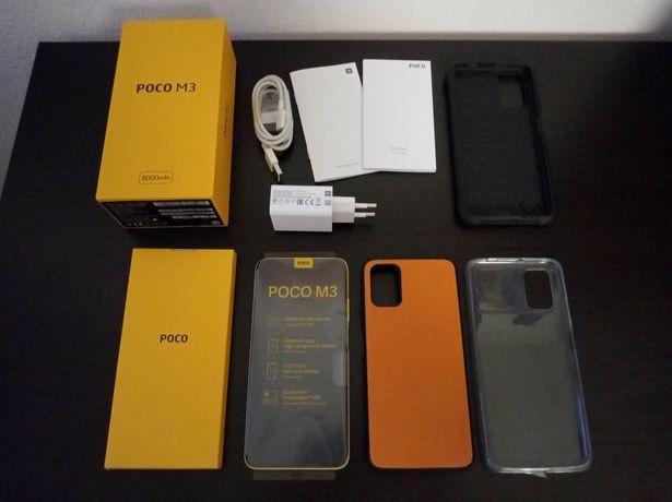 Smartphone Xiaomi Poco M3 4Gb/64Gb + Acessórios