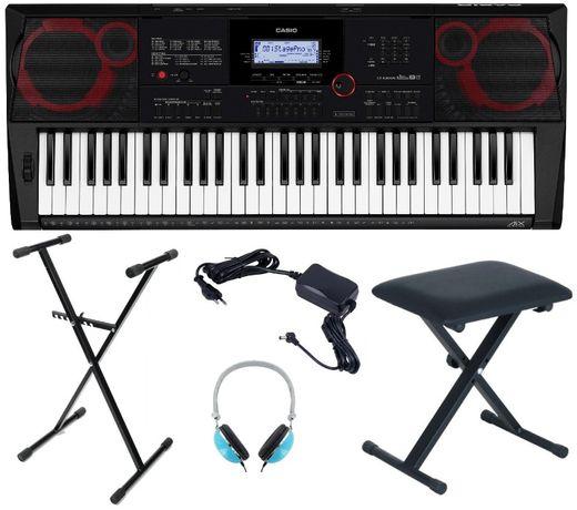 Keyboard Casio CT X3000 Statyw Ława Słuchawki NOWY WYSYŁKA
