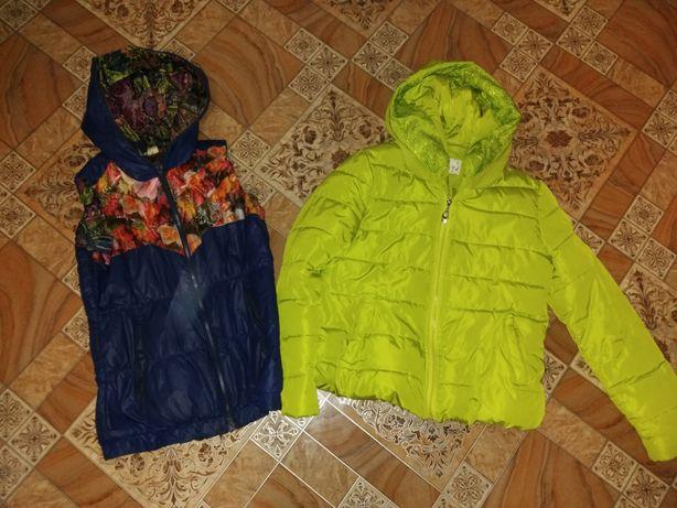 Куртка и желетке весенние