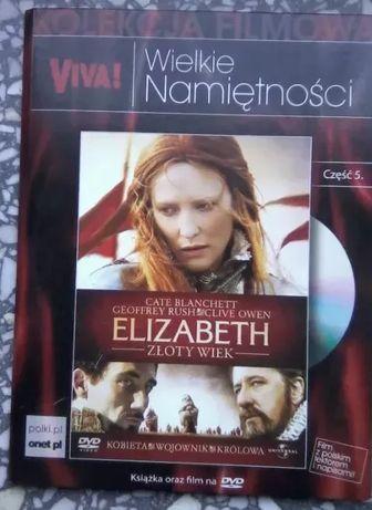 """Film DVD """"Elizabeth złoty wiek"""" reż. Shekhar Kapur, 2008"""