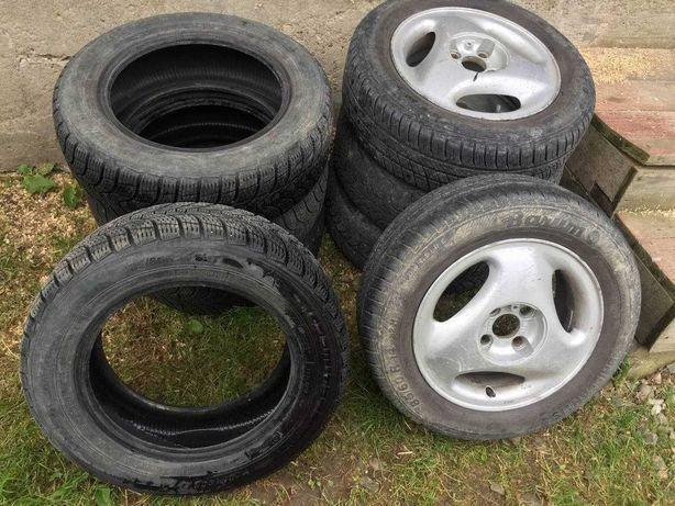Колеса з титанами Opel 4x100 R14 185 60 зима + літо