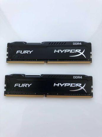 Оперативная память Kingston 32 GB DDR4 2666 MHz HyperX Fury Black