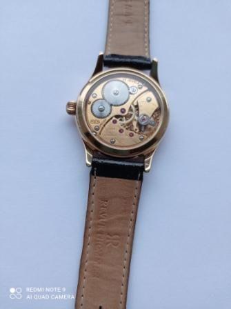 наручные механические швейцарские позолоченные часы 17 камней