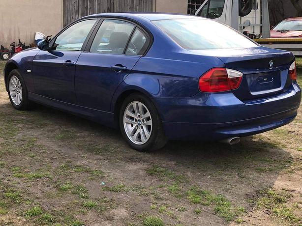 BMW E90 drzwi przednie tylne montego blau