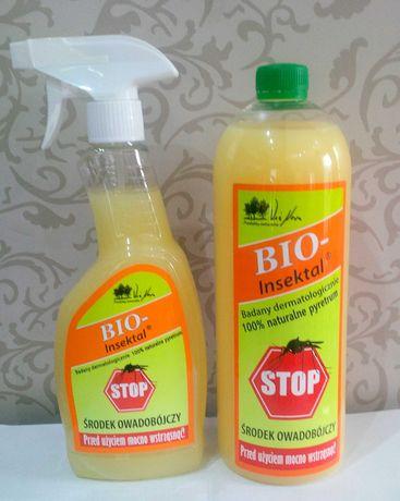 Bio-insektal bio insektal kleszcze pluskwy karaluchy muchy pchły 1 L