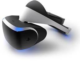 SONY VR виртуальный шлем