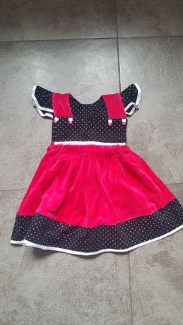 Sukienka rozmiar 104