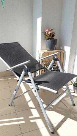Leżak, fotel ogrodowy, rozkładany, nowy
