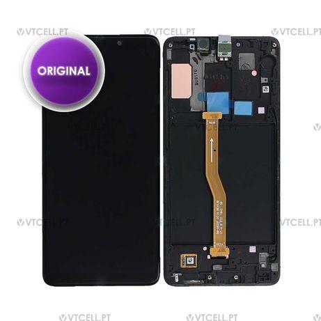 Ecra LCD + Touch Samsung Galaxy A9 (2018) (SM-A920F) -Preto (Original)