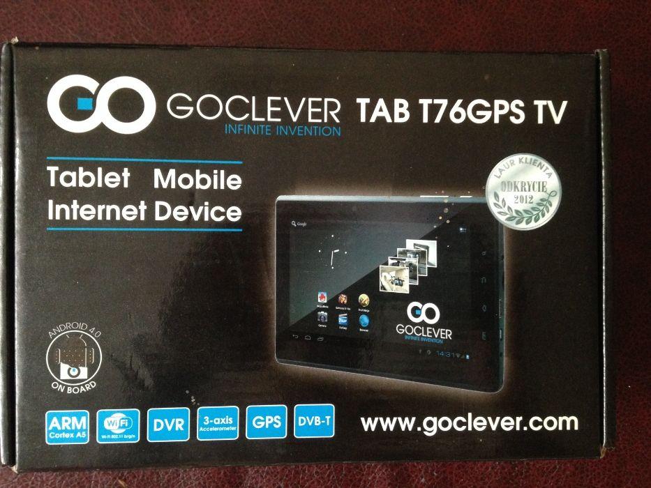 Планшет GoClever TAB T76GPS TV (GCT76GPSTV) Львов - изображение 1