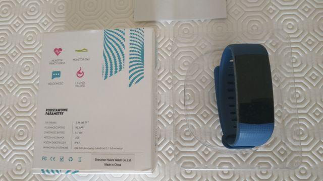 Smartbransoletka, smart watch, zegarek fit, Fitness Platinium