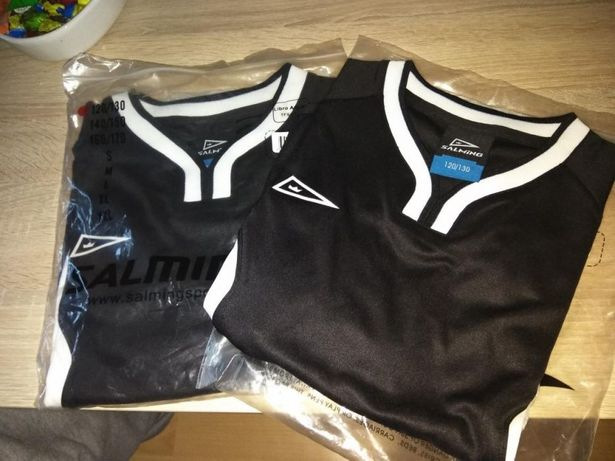 -70% Nowa koszulka SALMING sportowa na wf 120-130 oryginalna